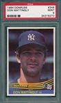 1984 Donruss #248 Don Mattingly PSA 9 *MINT* *Rookie*
