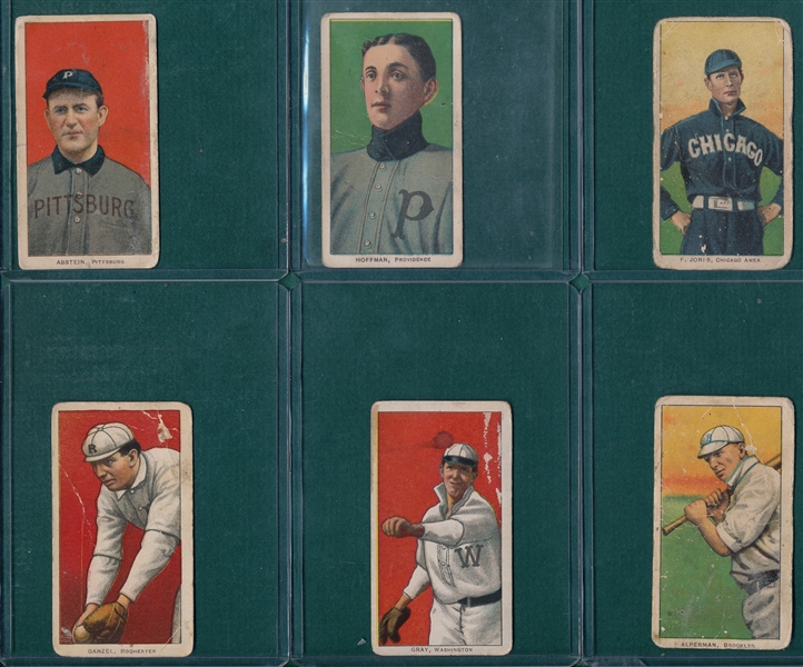 1909-1911 T206 Lot of (6) W/ Abstein