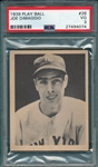 1939 Play Ball #26 Joe DiMaggio PSA 3