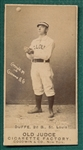 1887 N172 134-4 Home Run Duffe Old Judge Cigarettes *Clear Dark Image*