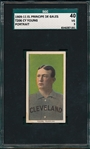 1909-1911 T206 Cy Young, Portrait, El Principe De Gales Cigarettes SGC 40 *Presents Much Better*