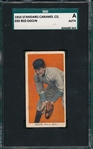 1909-11 E93 Red Dooin Standard Caramel Co. SGC Authentic
