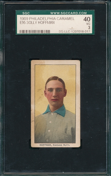 1909 E95 Solly Hoffman Philadelphia Caramel Co. SGC 40
