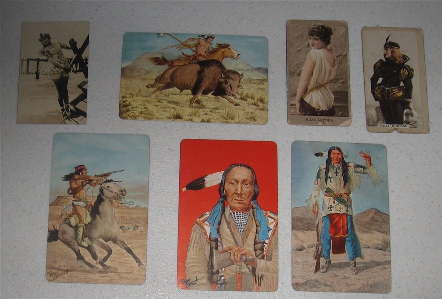 1880s-1956 Non Sports Lot of (83) W/ Geronimo