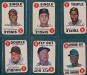 1968 Topps Game Lot of (50) W/ Aaron
