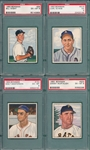1950 Bowman Lot of (4) W/ #38 Wight PSA 6 *SP*