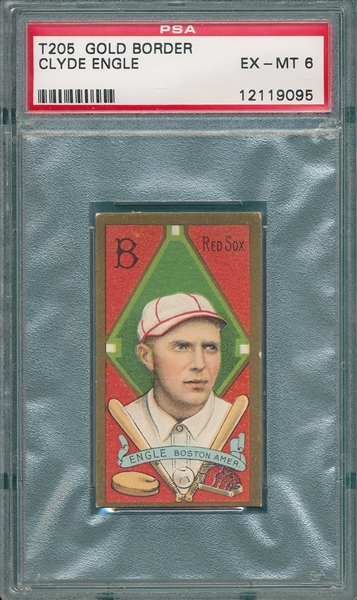 1911 T205 Engle Sovereign Cigarettes PSA 6