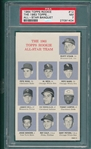 1964 Topps Rookie All-Star Banquet #12 W/ Pete Rose PSA 7