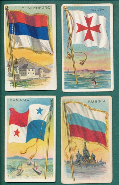1909-11 T59 Flags Different Backs Lot of (39)