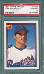 1991 Topps Traded #101T Ivan Rodriguez PSA 10 *GEM MINT* *Rookie*