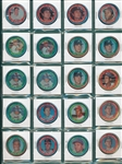 1971 Topps Coins Lot of (20) HOFers W/ Mays
