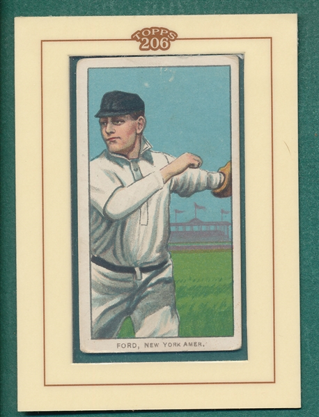 1909-1911 T206 Topps 206 Ford Sovereign 460