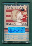 2005 Donruss Signature Series HOF Stan Musial, *Autograph Card*