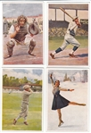 1932 Sanella Type 2 Complete Set W/ Babe Ruth