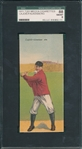 1911 T201 Lajoie/Falkenberg Mecca Cigarettes Double Folders SGC 88 *Only Two Graded Higher*