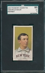 1909-1911 T206 Wee Willie Keeler, Portrait, Piedmont Cigarettes SGC 60 *A Must See For the Grade*