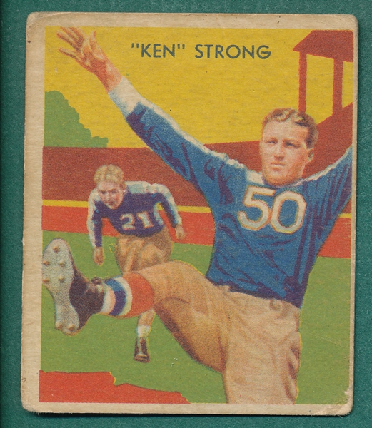 1935 National Chicle #7 Ken Strong