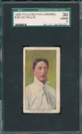 1909 E95 Vic Willis Philadelphia Caramels SGC 30