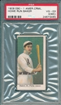 1909-11 E90-1 Home Run Baker American Caramel Co. PSA 4 (MC)