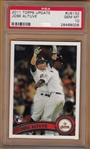 2011 Topps Update #US132 Jose Altuve, PSA 10 *GEM MINT*