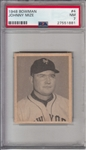 1948 Bowman #4 Johnny Mize PSA 7
