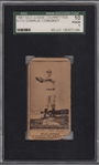 1887 N172 86-3 Charles Comiskey Old Judge Cigarettes SGC 10