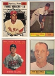 1961 Topps Lot of (10) W/ #564 Cardwell & #569 Herrera