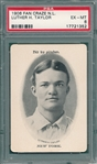 1906 Fan Craze, NL, Luther Taylor PSA 6