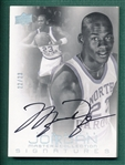 2012 UD MJ-5 Jordan Master Collection UNC, Michael Jordan, Signed, 22/23