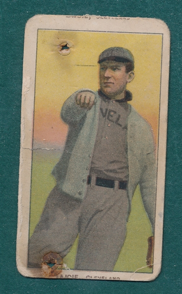 1909-1911 T206 Lajoie, Throwing, Sweet Caporal Cigarettes