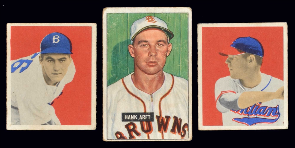 1949/51 Bowman Lot of (12)