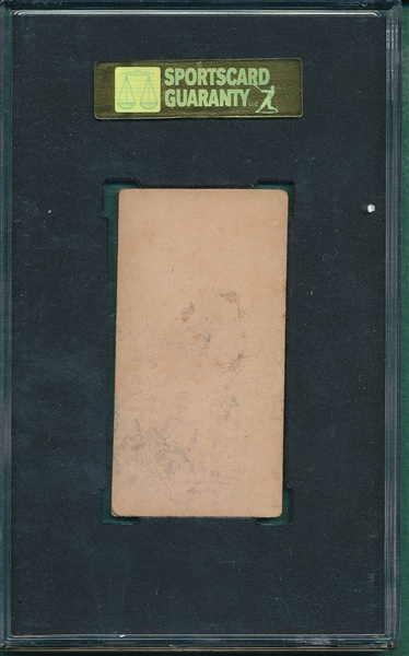 1887 N172 163-5 Silver Flint Old Judge Cigarettes SGC 40