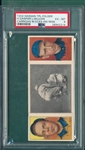 1912 T202 Carrigan Blocks His Man Gaspar/McLean Hassan Cigarettes PSA 6