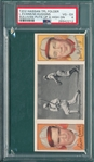 1912 T202 Sullivan Puts Up A High One, Evans/Huggins, Hassan Cigarettes PSA 4