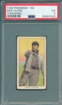 1909-1911 T206 Lajoie, Throwing, Piedmont Cigarettes PSA 3