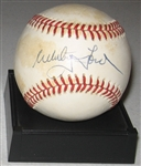 1961 WS MVP Whitey Ford Signed Ball PSA/DNA