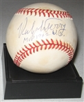 1962 WS MVP Ralph Terry Signed Ball PSA/DNA