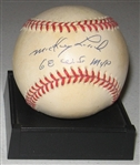 1968 WS MVP Mickey Lolich Signed Ball PSA/DNA
