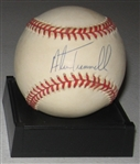 1984 WS MVP Alan Trammell Signed Ball, PSA/DNA