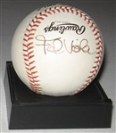 1987 WS MVP Frank Viola, Signed Ball, PSA/DNA