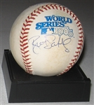 1985 WS MVP Brett Saberhagen, Signed Ball, PSA/DNA