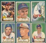 1952 Topps Lot of (22) W/ Slaughter