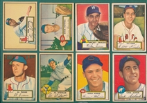 1952 Topps Lot of (8) W/ Kinder