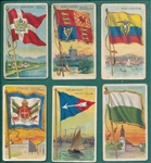 1909-11 T59 Flags Different Backs Lot of (40)