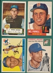 1952-55 Topps Lot of (17) W/ 52 #192 Ginsberg
