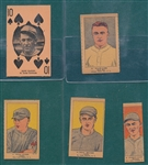 1923-27 Strip Card Lot of (5) W/ Shocker & Haines