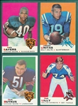 1969 Topps FB Lot of (18) W/ Sayers