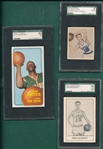 1948-85 Lot of (4) Basketball W/ 70 #70 Elvin Hayes SGC 84