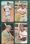 1970-71 Topps Super Lot of (36) W/ Mays, Aaron, & Clemente
