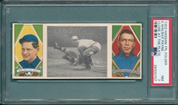 1912 T202 Close At The Plate, Walsh/Payne, Hassan Cigarettes, PSA 7 *Only 3 Graded Higher*